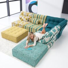 The Fama Arianne Sofa is a fun modern modular sofa designed for lounging A sofa designed with an active young […]