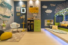 For the Bedroom Baby Nursery: Easy and Cozy Baby Room Ideas for Girl and Boy… – Colorful Baby Rooms Toddler Rooms, Baby Boy Rooms, Boys Bedroom Decor, Baby Room Decor, Creative Kids Rooms, Baby Room Colors, Kids Room Design, Girl Room, Interior Design Living Room