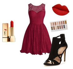 """""""Outfit"""" by averye-beard ❤ liked on Polyvore featuring Yves Saint Laurent"""
