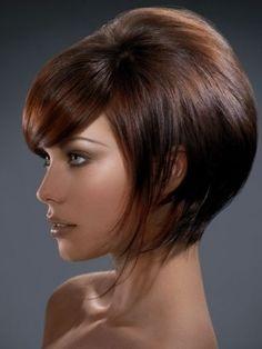 Medium Bob Haircut, GREAT color