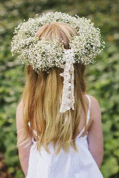 Santa Barbara Wedding from Joy de Vivre Event Design Boutique Floral Hair, Floral Crown, Flower Crowns, Flower Girls, Moon Wedding, Dream Wedding, Santa Barbara, Deco Floral, Floral Design