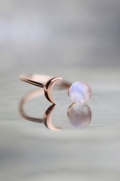 Raw Stone Ring Moonstone Ring Rose Gold Raw Gem Jewelry Celestial Jewelry Girlfriend Gift For Wife Unique Gifts For Women Crystal Ring - Wanderlust Rainbow Moonstone Ring Raw Stone Ring Gift For Her Celestial Jewelry Crescent Moon Ring - Moonstone Jewelry, Gems Jewelry, Jewelry Gifts, Gemstone Rings, Women Jewelry, Jewelry Bracelets, Silver Jewelry, Statement Jewelry, Opal Rings