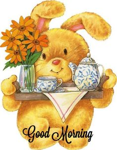 Good Morning Friends and Family! ❤❤❤ on We Heart It Good Morning Cartoon, Cute Good Morning Images, Good Morning Sister, Good Morning Coffee, Good Morning Picture, Good Morning Flowers, Good Morning Friends, Good Morning Good Night, Morning Pictures