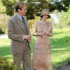 Downton Abbey fashion #cloche #hats