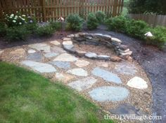 Building an Outdoor Fire Pit (DIY Stacked Stone Firepit)
