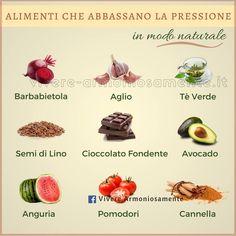 alimenti abbassa pressione