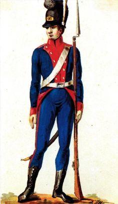szeregowy regimentu pieszego Wlk.Xs.Litewskiego