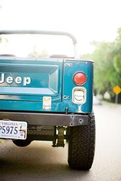 Jeep Scrambler Summer Art Print