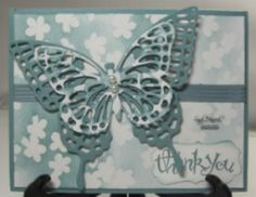February 20, 2015 Butterfly Thinlits with the Irresistibly Yours Designer Paper