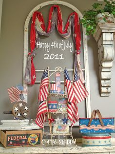 vintage july fourth decorations | happy july 4th patriotic decorating ideas for you