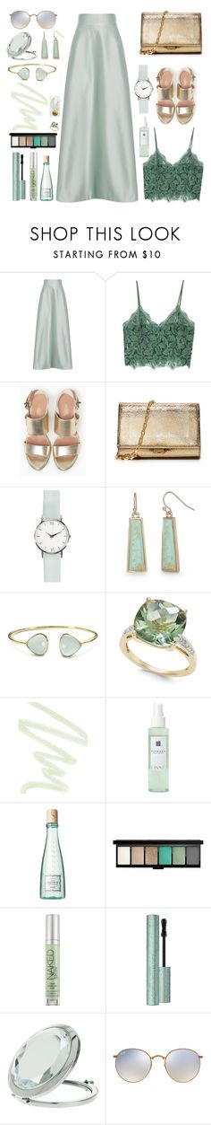 """""""Senza titolo #6555"""" by waikiki24 ❤ liked on Polyvore featuring Temperley London, MANGO, Max&Co., Michael Kors, New Directions, Margaret Elizabeth, Dolce&Gabbana, Benefit, MAC Cosmetics and Urban Decay"""