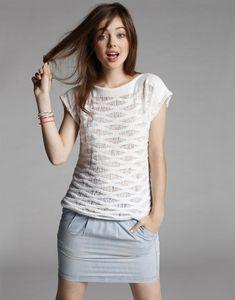 Modèle T-Shirt fantaisi femme