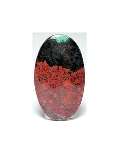 Red Cuprite Black Tenorite and Blue Green by FenderMinerals