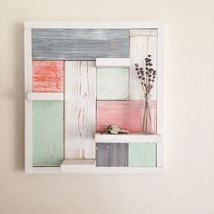Wall Decor by My Altered State #GetBuilding2015 #ScrapWorkLove