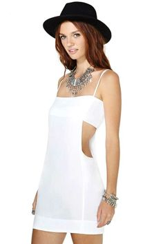 Indah Cutout Sides Dress