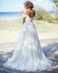 David's Bridal bride Anna in style WG3785 Photo: @anjuta.mai