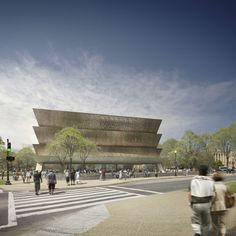 Smithsonian Museum of African American History and Culture by David Adjaye and FAB #Aug2016