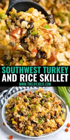 Ground Turkey And Sausage Recipe, Healthy Ground Turkey Dinner, Turkey And Rice Recipe, Ground Turkey Dinners, Ground Turkey Casserole, Ground Turkey Pasta, Ground Turkey Tacos, Healthy Meat Recipes, Ground Meat Recipes