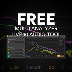 This free Max for Live device by the good people at Isotonik Studios allows you to see up to 4 spectrum analysis lines from 4 channels at the same time. Exclusive for Ableton Live 10!! This Max for Live device is the first from Mark Towers to use the new functionality within Ableton Live 10. …