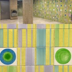 Happy tiles in the Lisbon metro