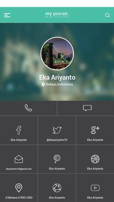 Contact Person screen