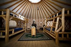 The coolest uncommon places to spend the night in Michigan Yurt Camping, Camping Places, Outdoor Camping, Places To Travel, Places To Go, Camping Tips, Michigan State Parks, Michigan Travel, Muskegon State Park