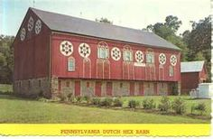 Playle's: Pennsylvania Dutch Barn Hex Signs - Store Item# KDL44547
