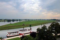 Ausblick auf die Elbe bei Tangermünde