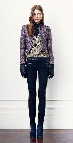 Avec un pantalon droit au lieu du legging pour moi. | Look 15 | Womens 31 Most-Wanted Looks | Tory Burch