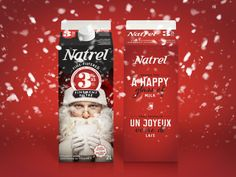 Natrel | Édition spéciale Noël / Christmas Special Edition |Emballage / Packaging | lg2boutique