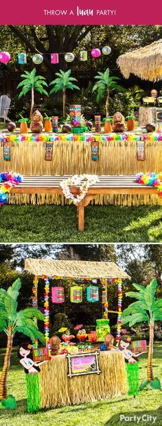 You know it's your backyard, but today it's a destination unknown. Bring the island vibes from day to night with Tiki & Luau themes from Party City. From leis, hula skirts; and every Hawaiian shirt, Party City helps you craft your summer get-togethers with a tropical twist.