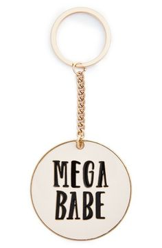 ban.do 'Mega Babe' key chain for your BFF