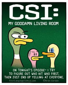 CSI: MOM. The language stinks but other than that, this is hilarious!
