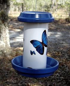 Awesome PVC pipe bird feeders and houses