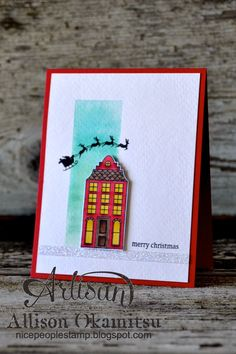 Holiday Home Photopolymer Bundle stamp queen 101