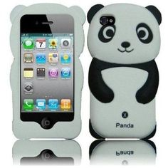 3 D Panda I Phone4 Case  #shopsmall BUY NOW $7.50