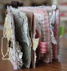 paper bag book (love the textures!)