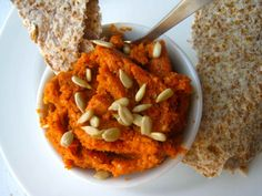Spicy Sunflower Seed Spread Recipe inspired by flavors of North African condiment, harissa; Delicious, Healthy and Vegan from Homemade Levity