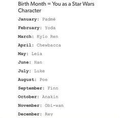 I'm Obi-Wan :) comment yours #starwars