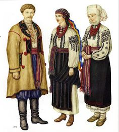 FolkCostume&Embroidery: Nyz embroidery of Eastern Podillia, Ukraine Folk Clothing, Types Of Embroidery, Traditional Outfits, Art Forms, March 2013, Ukraine, Folk Art, Costumes, Painting