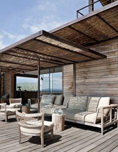 8 belles déco de terrasses abritées par une pergola