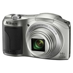 Nikon COOLPIX L610 16MP Digital Camera with 14x Optical Zoom - Silver