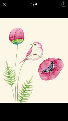 Wildlife Illustration by Colleen Parker : Photo Watercolor Bird, Watercolor Paintings, Watercolours, Fabric Painting, Painting & Drawing, Illustration Blume, Bird Drawings, Arte Floral, Bird Art