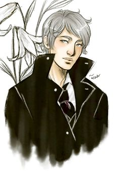 From Mari Draws ... james 'jem' carstairs, the infernal devices