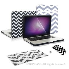 High quality newly designed Chevron Series Macbook Case Perfect fit for Macbook Pro with black keyboard only. Macbook Pro 15 Inch, Macbook Pro Case, Princess Toys, Mac Pro, Keyboard Cover, Zig Zag Pattern, Retina Display, Chevron, Shells
