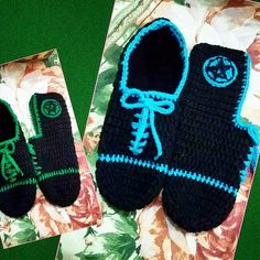 Football slippers by Amber Aamir ♡