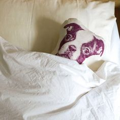 Organic Animal Printed Cushions -   Looks like we can finally get that second dog...