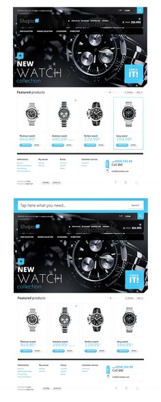 Shopic#1 - OpenCart Template by Suelo #ecommerce #webdesign
