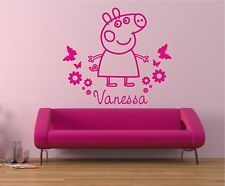 Peppa Pig Wall Mural! Part 83