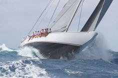 J-Class Racing Yacht